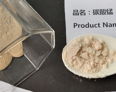 Manganous Carbonate Electrolyte Material , Manganese Carbonate Solid Powder MSDS COA TDS
